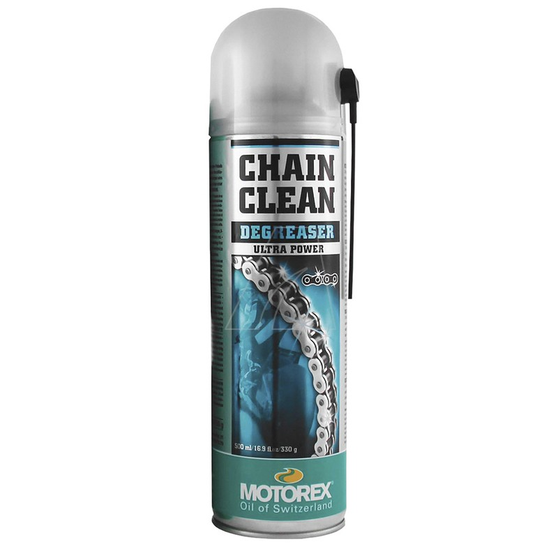 MOTOREX Chain Clean Kettenreinigerspray, 500 ml, 6021-U1-0071