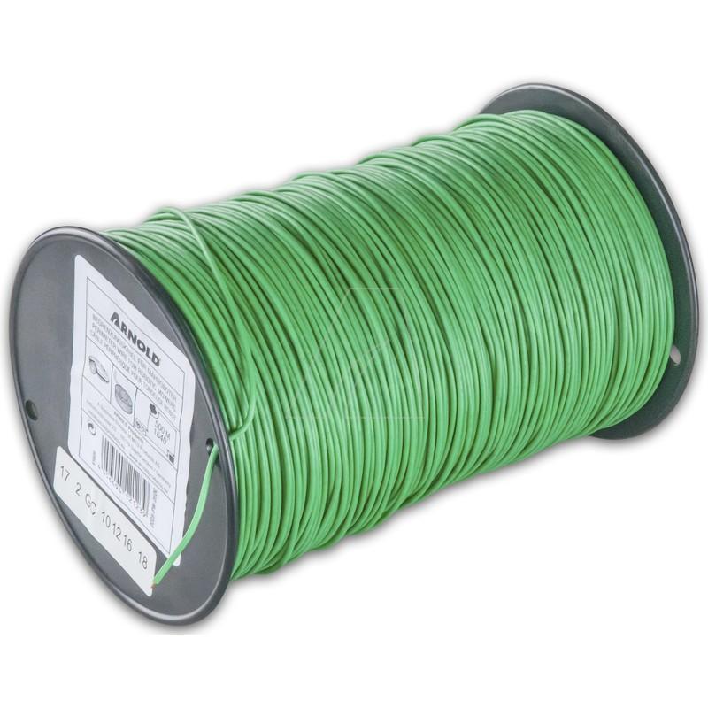 ARNOLD Begrenzungsdraht für Mähroboter, grün, 500 m, 1 mm², 2025-PW-0500