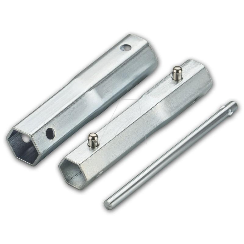 4-in-1 Zündkerzenschlüssel für SW 16, 18, 19, 21 mm, 6111-ZK-0001