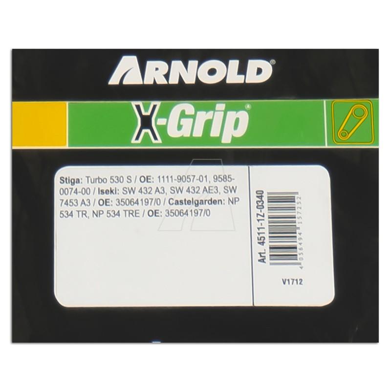 ARNOLD X-Grip Keilriemen Z 34, 4511-1Z-0340