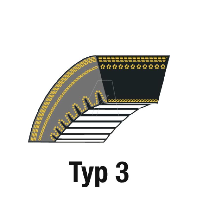 Keilriemen Z28 10 x 748 La, 4011-C2-0019
