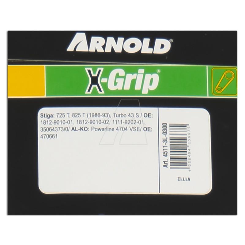 ARNOLD X-Grip Keilriemen 3L 300, 4511-3L-0300