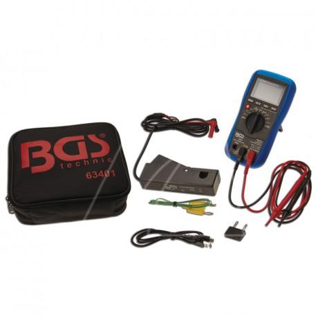 BGS KFZ Digital-Multimeter mit USB Schnittstelle