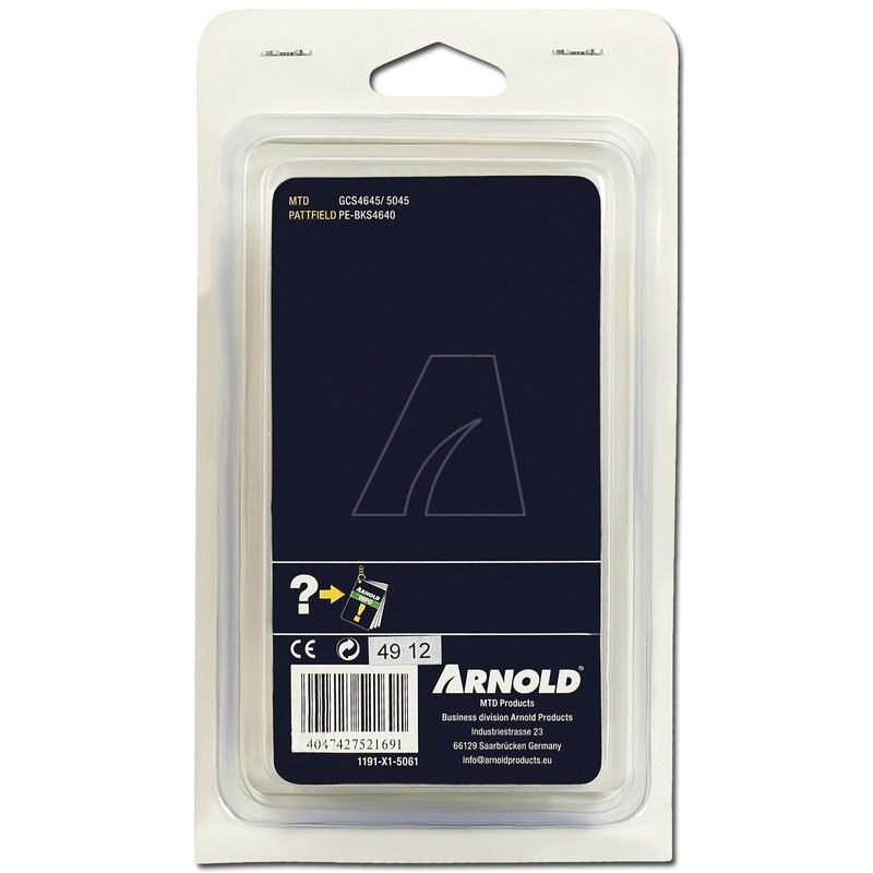 mit Sicherheitstreibglied Halbmeißel 61TG Sägekette 3//8 LP 1,3 mm