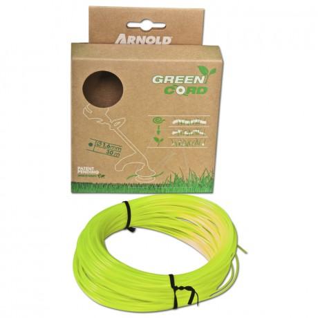 Green Cord 1,6 mm - Länge: 30 Meter, rund