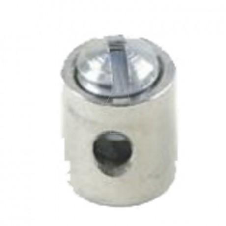 Schraubnippel 6,0 mm, ID 1,8 mm, 20 Stk. im Beutel