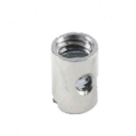 Schraubnippel 8,0 mm, ID 2,7 mm, 20 Stk. im Beutel