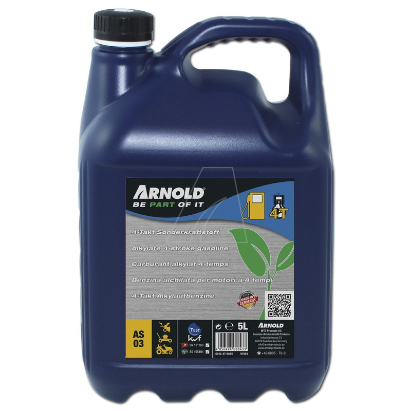 ARNOLD 4T Sonderkraftstoff, 5 Liter, 6112-4T-0005