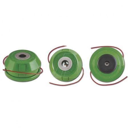 2-Fadenkopf, halbautomatisch Kapazität: bis 13 m (Ø 2,4mm)