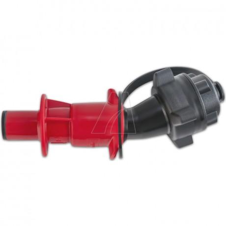 Sicherheits-Einfüllsystem für Sonderkraftstoff, schwarz/rot