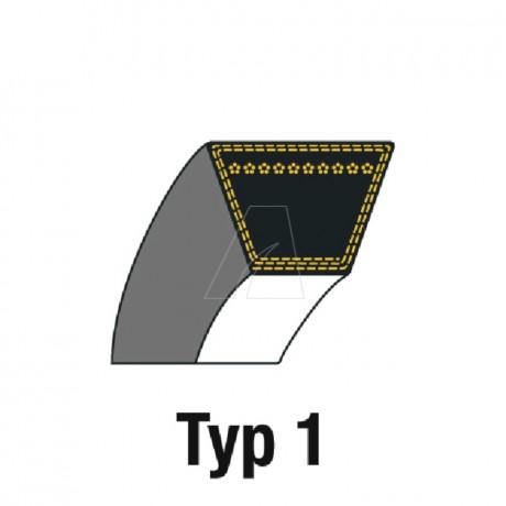 Keilriemen HA 12,7 x 2768 (A109)