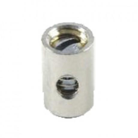 Schraubnippel 8,0 mm, ID 2,0 mm, 20 Stk. im Beutel