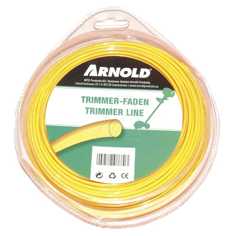 Trimmerfaden 2,7 mm x 32 m, rund, 1082-U1-0036