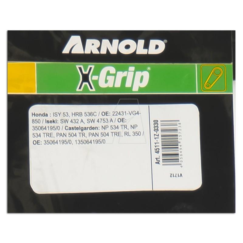 ARNOLD X-Grip Keilriemen Z 33, 4511-1Z-0330