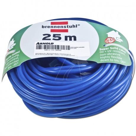 Brennenstuhl BREMAXX Verlängerungskabel IP44 25 m blau AT-N05V3V3-F 3G1,5