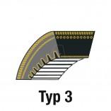 Zahnkeilriemen ZX33 10 x 878 La