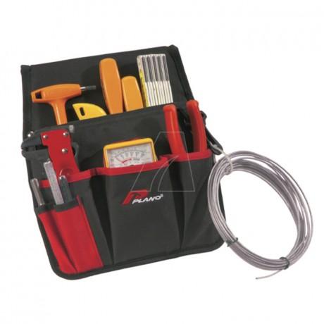 Universale Werkzeugtasche mit vielen Innen- und Aussentaschen
