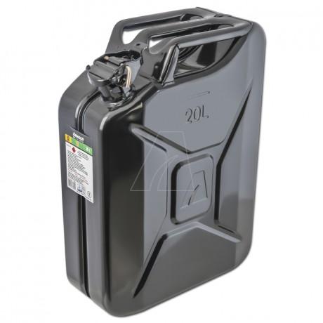 Metallkanister, 20L, schwarz