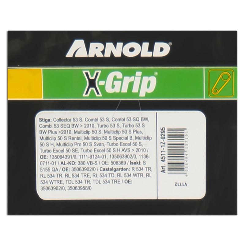 ARNOLD X-Grip Keilriemen Z 29,5, 4511-1Z-0295