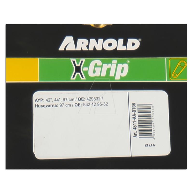 Sechskantkeilriemen ARNOLD X-Grip AA 108, 4511-AA-0108