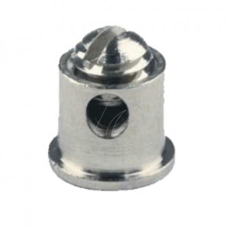 Schraubnippel 5,5 mm, ID 1,8 mm, 20 Stk. im Beutel