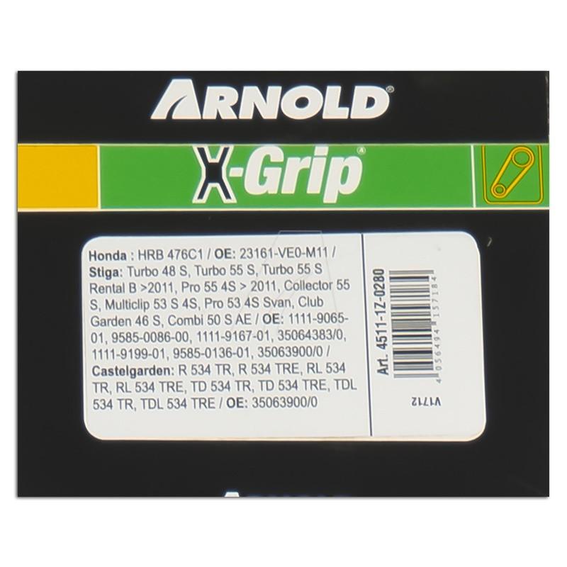 ARNOLD X-Grip Keilriemen Z 28, 4511-1Z-0280
