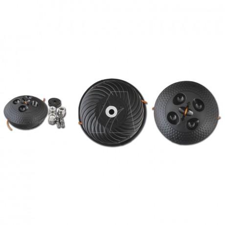 Aerodynamischer Fadenkopf inkl. Adapter Kit, kleine Ausführung