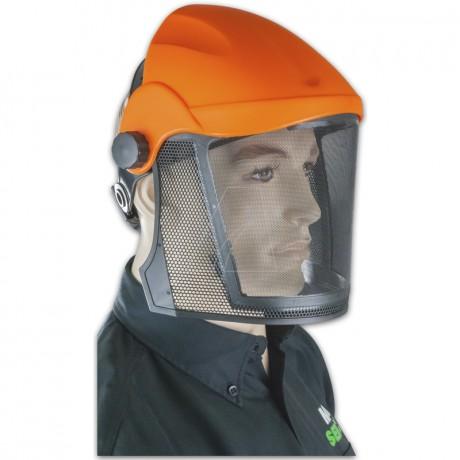Gesichtsschutz mit Metall-Forstgitter