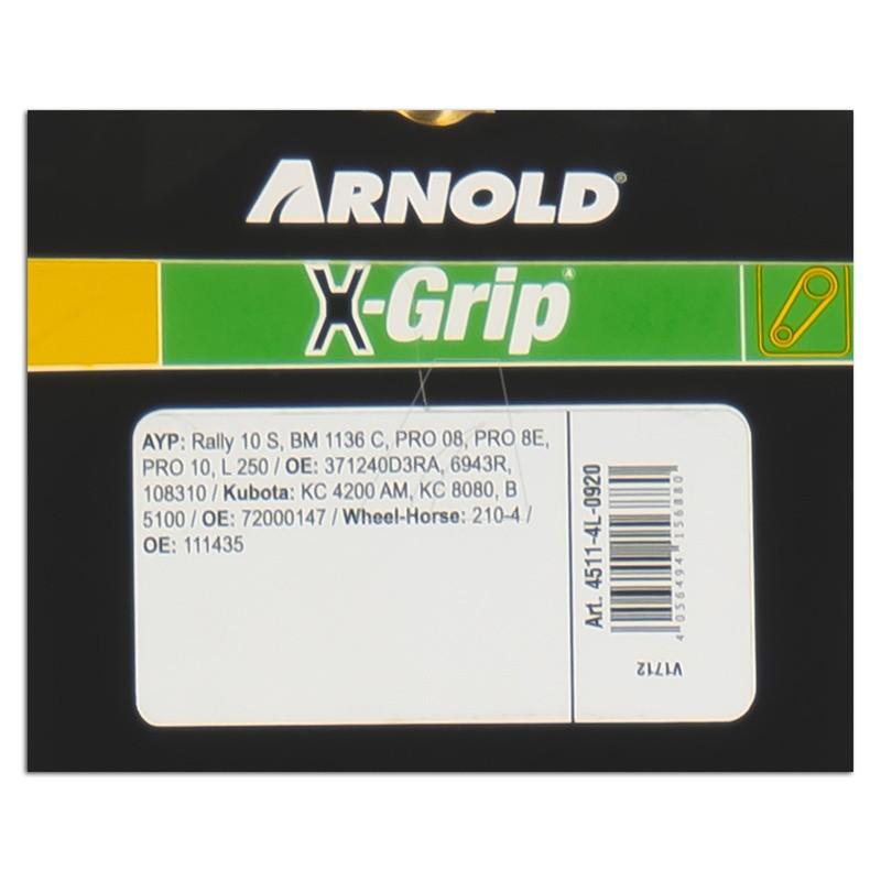 ARNOLD X-Grip Keilriemen 4L 920, 4511-4L-0920