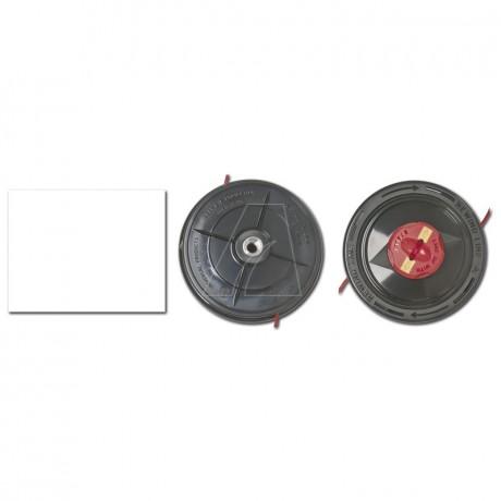 Schnelladefadenkopf f. Trimmer, M10x1.25 mit 2,4mm Ultra quiet Faden