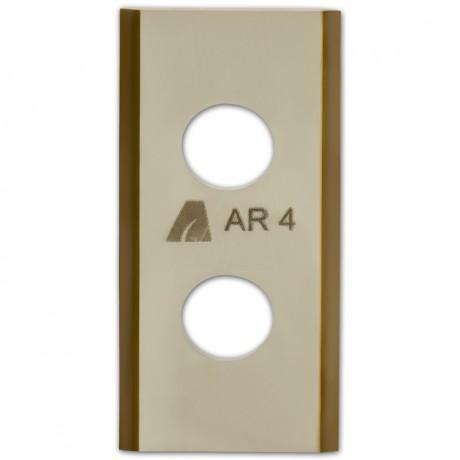 ARNOLD TiN-Cut Ersatzklingen passend für Worx Landroid Mähroboter, 9 Stück