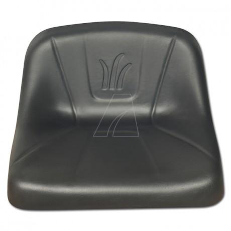 Sitz niedrige Lehne schwarz