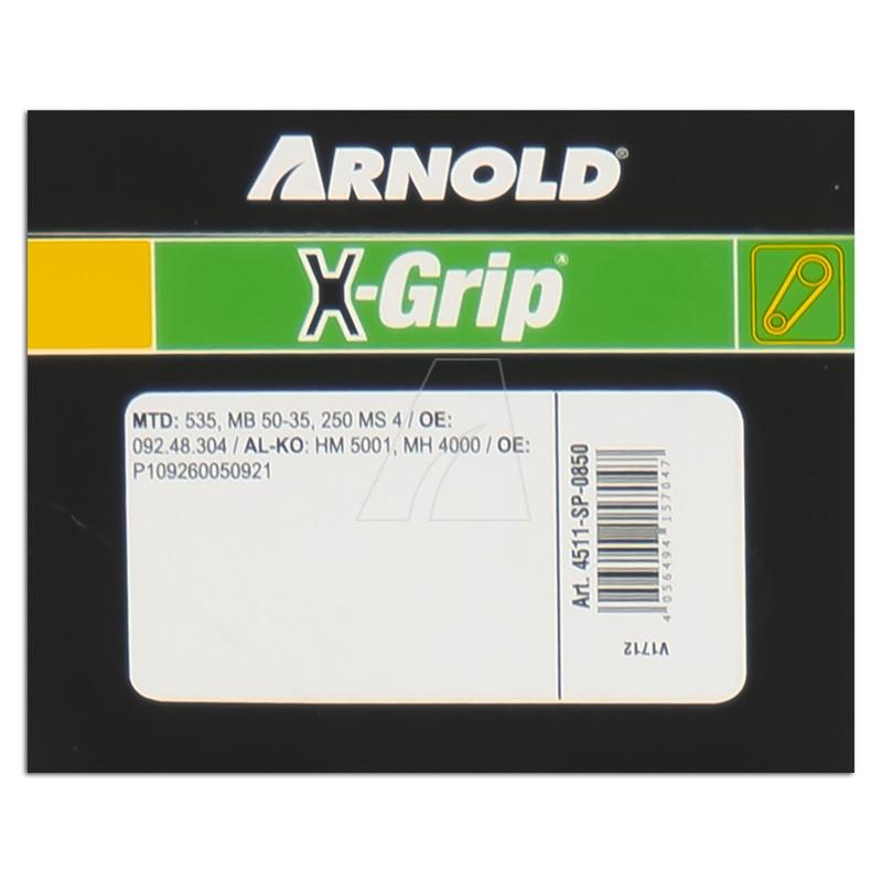 ARNOLD X-Grip Keilriemen SPZ 850, 4511-SP-0850