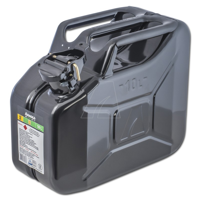 Metallkanister, 10L, schwarz, 6011-X1-2001
