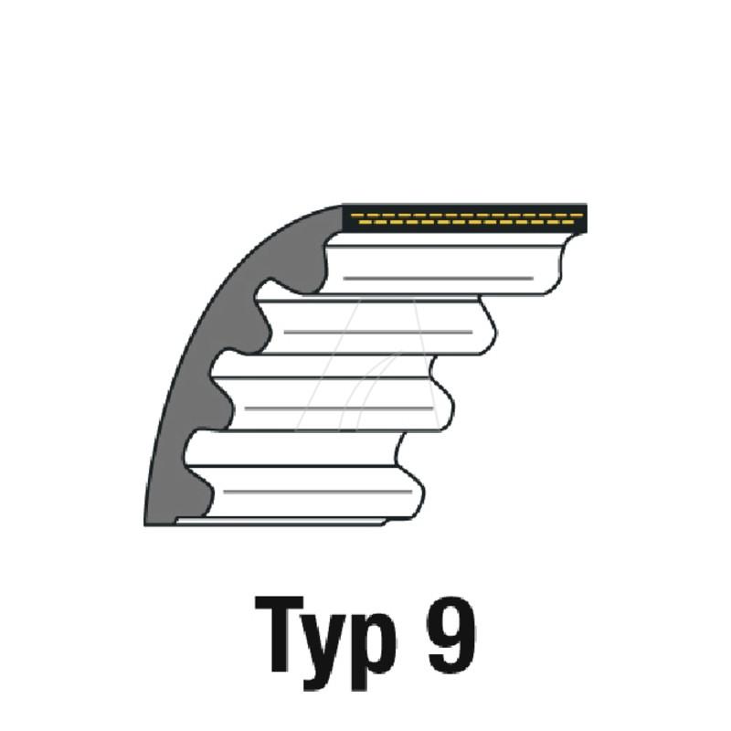 Zahnriemen HTD 295-5M-12, 4011-W7-0026