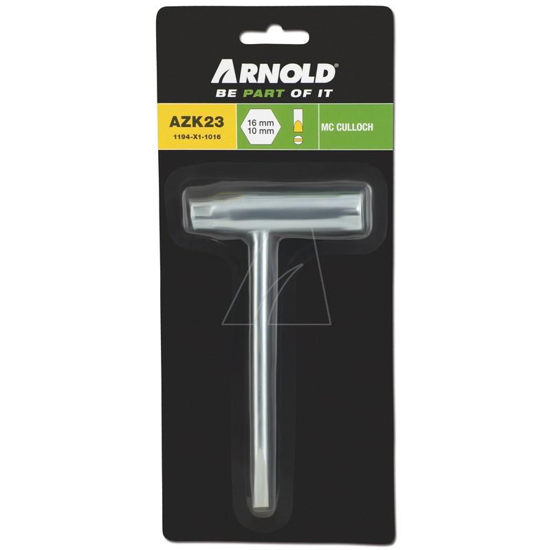 Zündkerzenschlüssel 10 mm x 16 mm x 88 mm, 1194-X1-1016