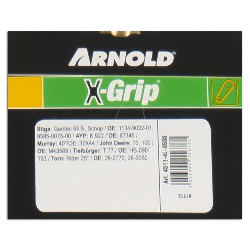 ARNOLD X-Grip Keilriemen 4L 500, 4511-4L-0500