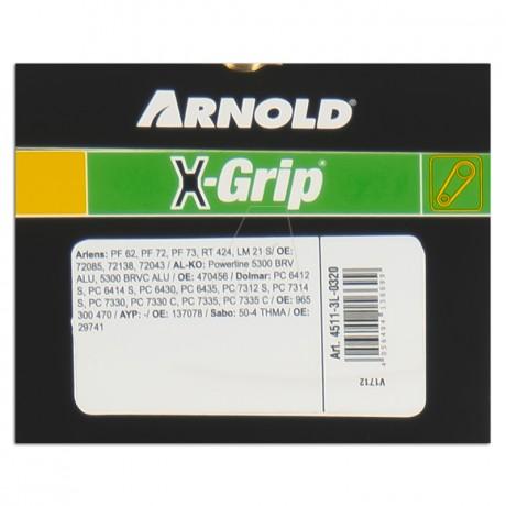 ARNOLD X-Grip Keilriemen 3L 320