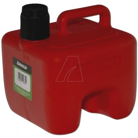 Kraftstoffkanister 3L, rot, stapelbar