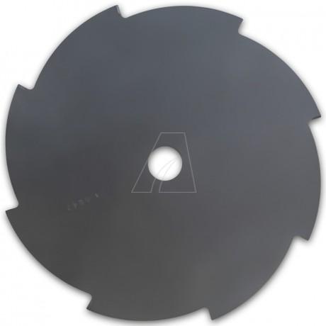 Mähmesser 255 mm, 8 Zahn, ZB Ø 25,4 mm, 1,4 mm