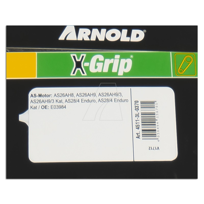 ARNOLD X-Grip Keilriemen 3L 370, 4511-3L-0370