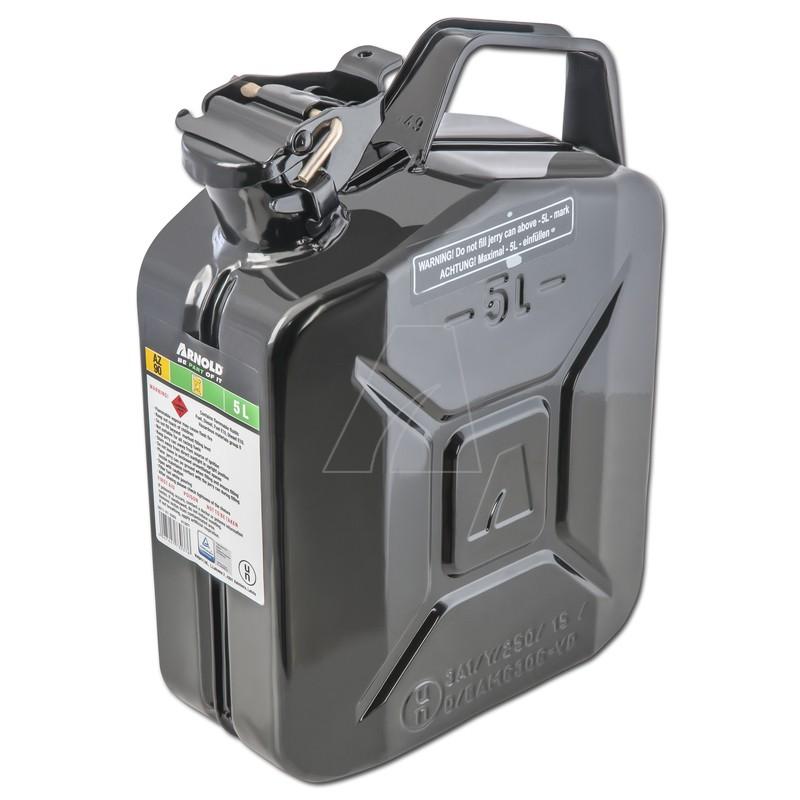 Metallkanister, 5L, schwarz, 6011-X1-2000