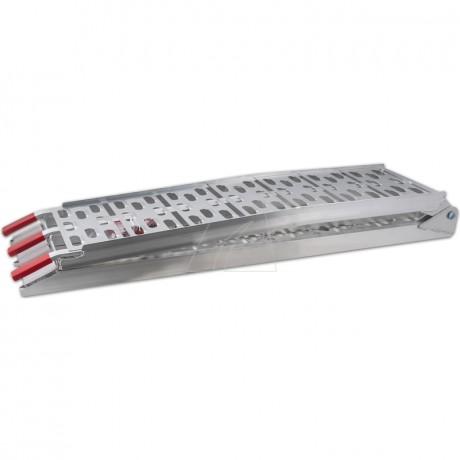 Motoprofessional Aluminium-Laderampe *CROSS* - 300 kg Tragkraft max.
