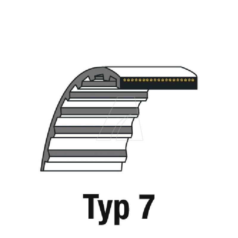 Zahnriemen HTD 295-5M-15, 4011-W7-0002