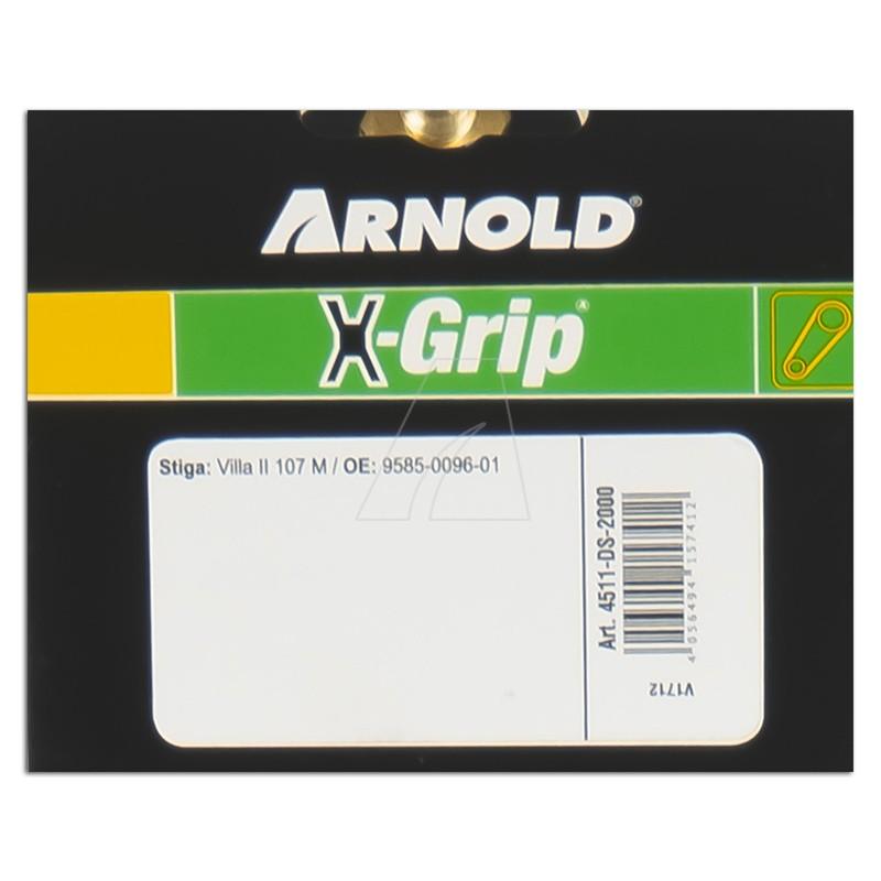 Doppelzahnriemen ARNOLD X-Grip 20-DS8M-2000, 4511-DS-2000