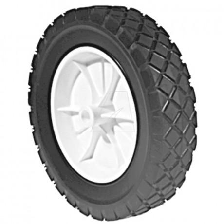 Rad Kunststoff Ø178 mm, Rautenprofil