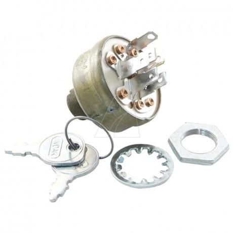 Zündschloß mit Schlüssel, 6 Pin, MTD 725-1396A
