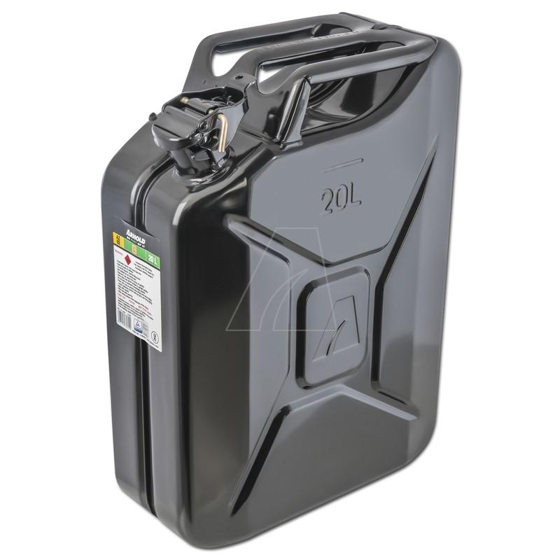 Metallkanister, 20L, schwarz, 6011-X1-2002