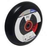 PU-Schubkarrenrad 400 mm, schwarz