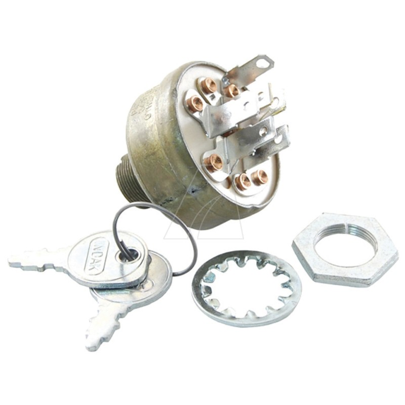 Zündschloß mit Schlüssel, 6 Pin, MTD 725-1396A, 5011-M6-0001